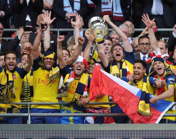 2015 FA Cup Victory