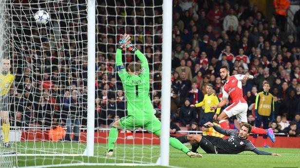 Walcott Goal
