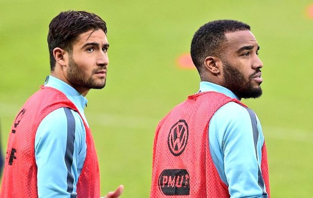 Fekir and Lacazette